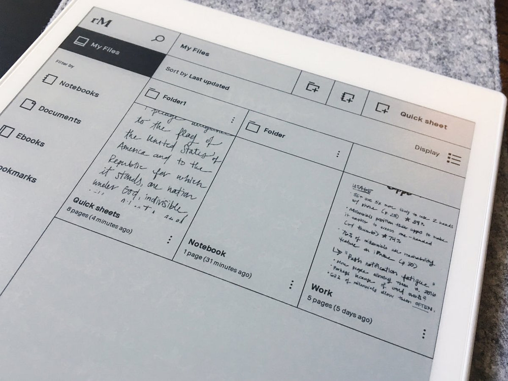This $600 reMarkable tablet for 'paper people' is the best use of E Ink