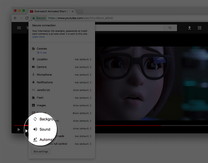 Google Chrome is Soon Going to Launch Mute Feature for Webpages