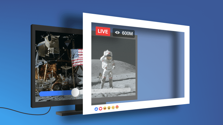 """Facebook Pages can now """"go live"""" from the desktop, add live contributors and more"""