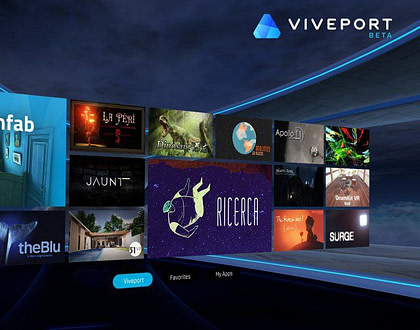 HTC launches its Viveport VR store globally