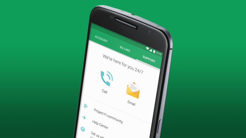 Google's Project Fi starts testing Voice over LTE support