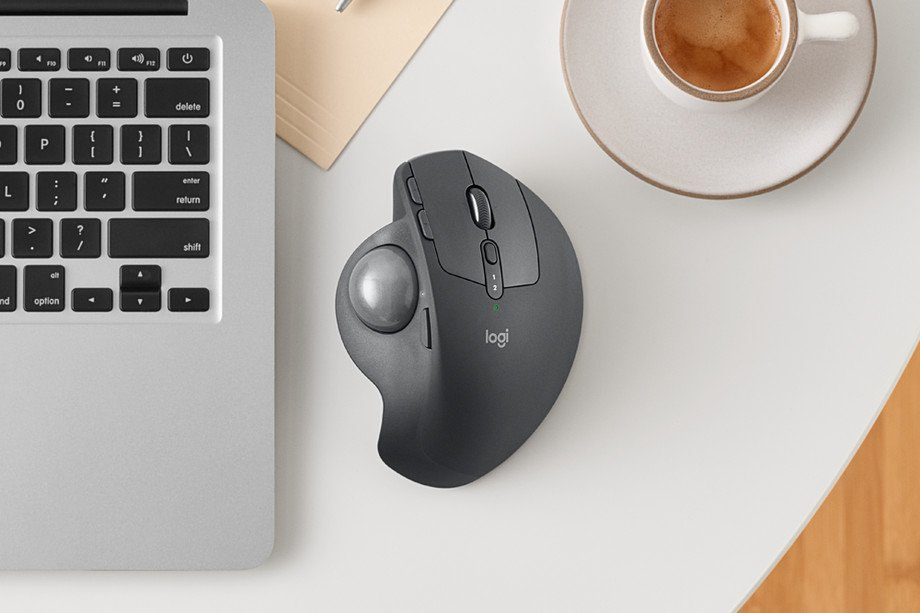 The trackball mouse is back after seven years